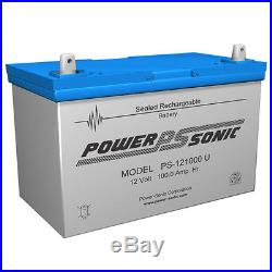 Power-Sonic New UB121000 45978 12V 100AH Battery Scooter Wheelchair Mobility Dee