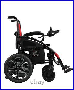 Power Wheelchair Motorized Electric Wheelchair Mobility Scooter Wheel Chair