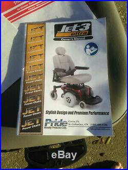 Pride JET 3 ULTRA Electric Power Mobility Wheelchair Wheel Chair