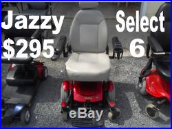 Pride Jazzy Select 6 Power Wheelchair Mobility Scooter Chair Pick Up In Nj