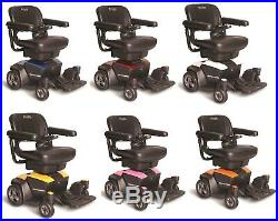 Pride Mobility Go Chair Compact Portable Electric Travel Power Chair Wheelchair