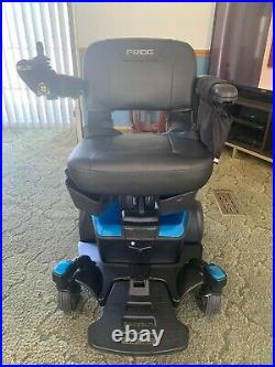 Pride Mobility Go-Chair Compact Portable Electric Wheelchair, Blue