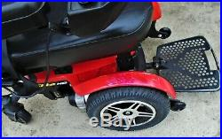 Pride Mobility Jazzy Elite HD POWER WHEELCHAIR WITH 450LB SCUFFS Scratches