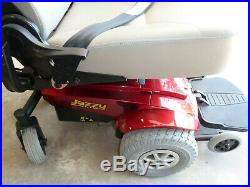 Pride Mobility Jazzy Select Gt Power Captain Rec. Chair Scooter Wheelchair Red