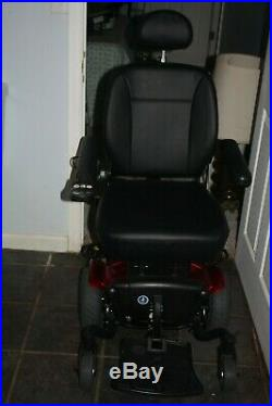 Pride Mobility Scooter J6 Red Jazzy