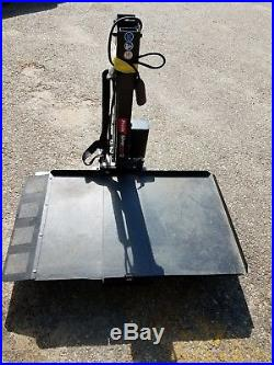 Pride Mobility, Silver Star, Backpacker Mobility Scooter Van Wheelchair Lift