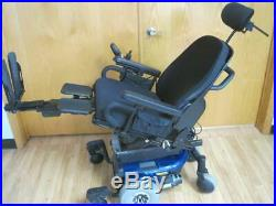 Quantum 610 Wheelchair Power Tilt Recline Legs Electric Scooter Mobility Chair
