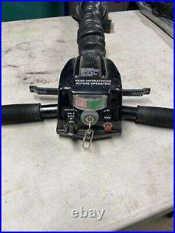 Rascal 200 series mobility scooter tiller withcolumn bar & wrap, includes key