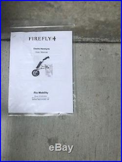 Rio Mobility Firefly, Electric Scooter attachment for Wheelchairs Handcycle