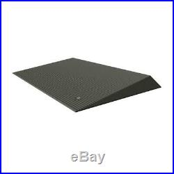 Rubber Threshold Ramp EZ ACCESS Mobility Wheelchair Scooter Beveled Edges Solid