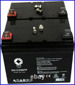 SPS Brand 12V 35Ah battery for Pride Mobility Victory wheelchair scooter 2 PAC