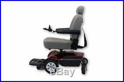 The Scooter Store's Pride Mobility TSS-300 Red Electric Wheelchair 19x18 Seat
