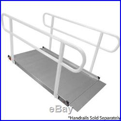Titan 1.8m Aluminium Wheelchair Entry Ramp Solid Surface Scooter Mobility Access