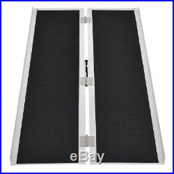 Topbuy 5'L Wheelchair Ramp Mobility Scooter Portable Carrier