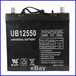 UB12550 45825 12V 55AH 22NF Battery Scooter Wheelchair Mobility