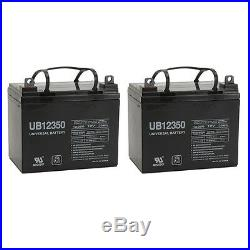 UPG 2 Pack 12V 35Ah ADC SCOOTERS WENZELITE Wheelchair Scooter Mobility Battery