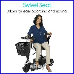 Vive 3-Wheel Mobility Scooter Electric Powered Mobile Wheelchair Device