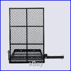Wheel Chair Trailer Hitch Carrier Scooter Mobility Cargo Carrier withLoading Ramp