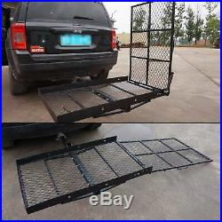 Wheel Chair Trailer Hitch Carrier Scooter Mobility Carrier Loading Ramp Newest