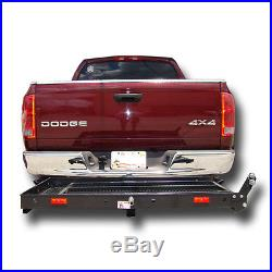 Wheelchair Carrier Loading Rampmobility Scooter Electric Trailer Hitch 500 400