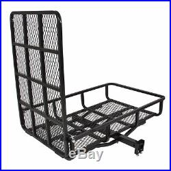 Wheelchair Carrier Rack Medical Mobility Cargo Ramp Electric Scooter Hitch Steel