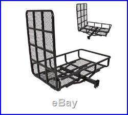 Wheelchair Carrier Ramp Scooter Mobility Rack Power Lift Hitch Medical Steel NEW