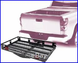 Wheelchair Hitch Carrier Mobility Aid Scooter Car SUV Loading Folding Ramp Steel