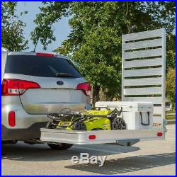 XXLarge Mobility Foldable Carrier Hitch Rack Ramp Heavy Duty Wheelchair Scooter